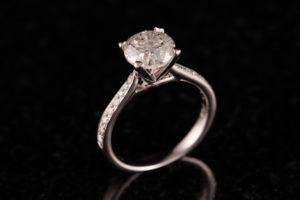 18ct White Gold 2.02ct Diamond Ring