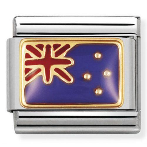 nomination gold new zealand flag christopher george
