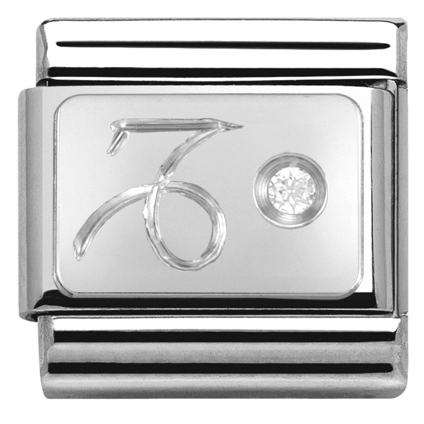 Nomination Silver Capricorn Charm  5fdd88364b