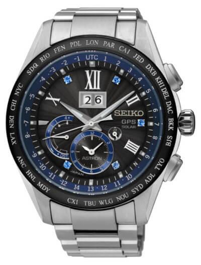 Seiko Astron Watch GPS Solar Big Date D