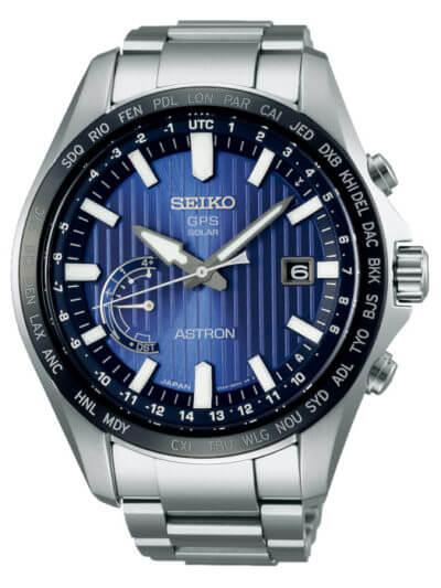 Seiko Mens Analogue Solar Powered Watch