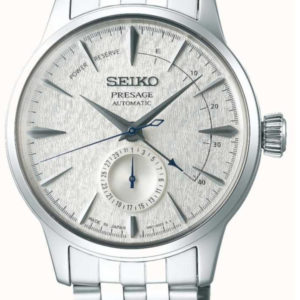 Seiko Presage Fuyugeshiki Cocktail Automatic Watch, Silver