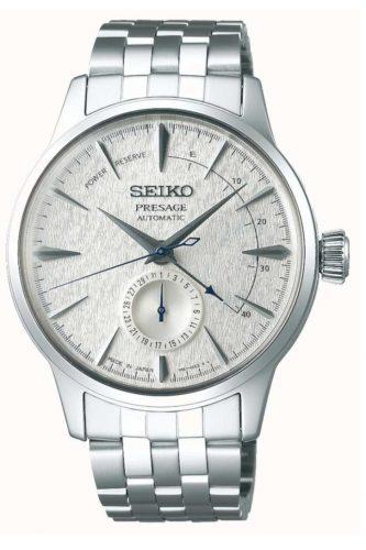 Seiko Presage Fuyugeshiki Cocktail Automatic Watch, Silver