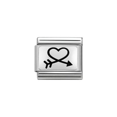 Nomination Arrow Heart Charm