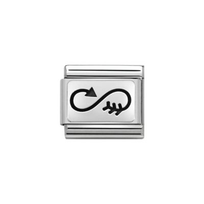 Nomination Infinity Arrow Charm