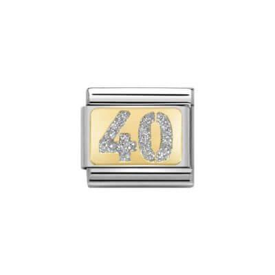 Nomination glitter 40 charm